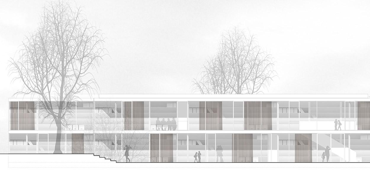 VillénPahmeier Architekten, Berlin , Martin-Luther-Grundschule, Coesfeld