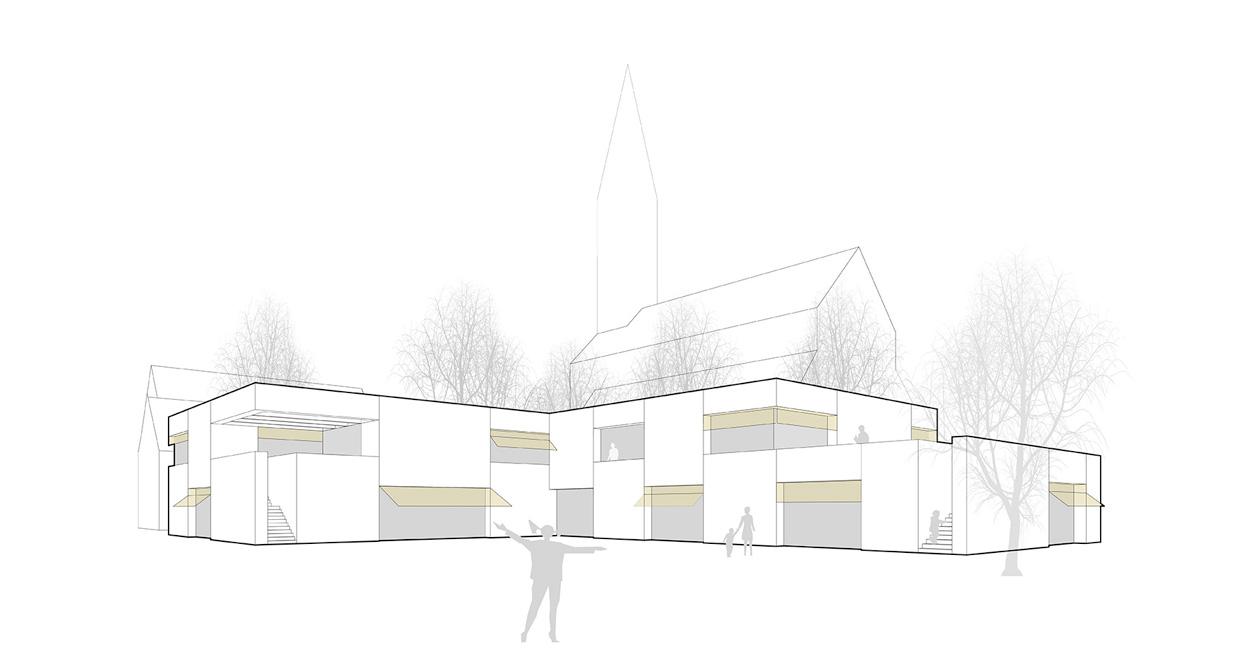 VillénPahmeier Architekten - Kindergarten Kirchgasse, Müllheim