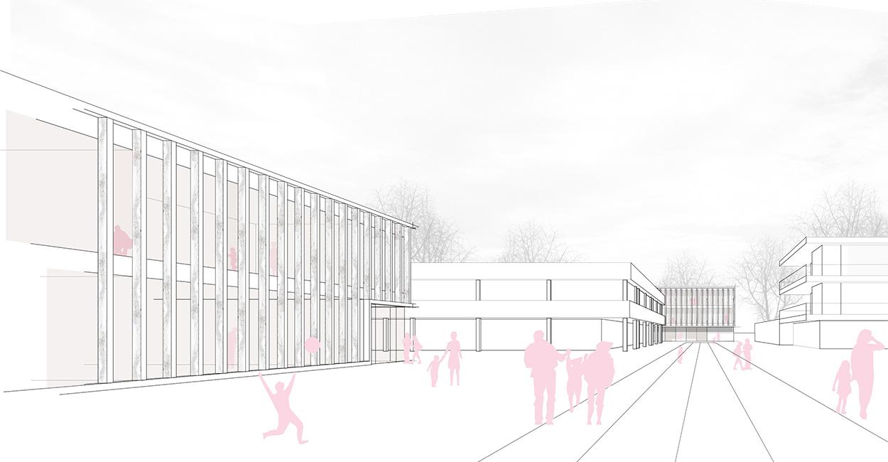 VillénPahmeier Architekten_Grundschule und Mensa in Neuhausen auf den Fildern